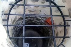 Grille de puits