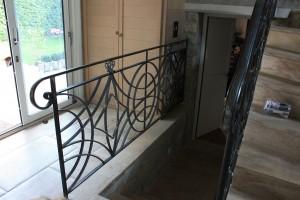 Garde-corps réalisé par les Etablissement Crapeau de Prunay-sur-Essonne