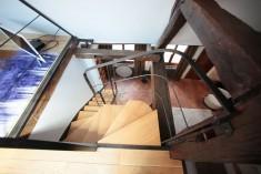 Escalier métallique - agencement sur mesure réalisé par L'ATELIER H&S