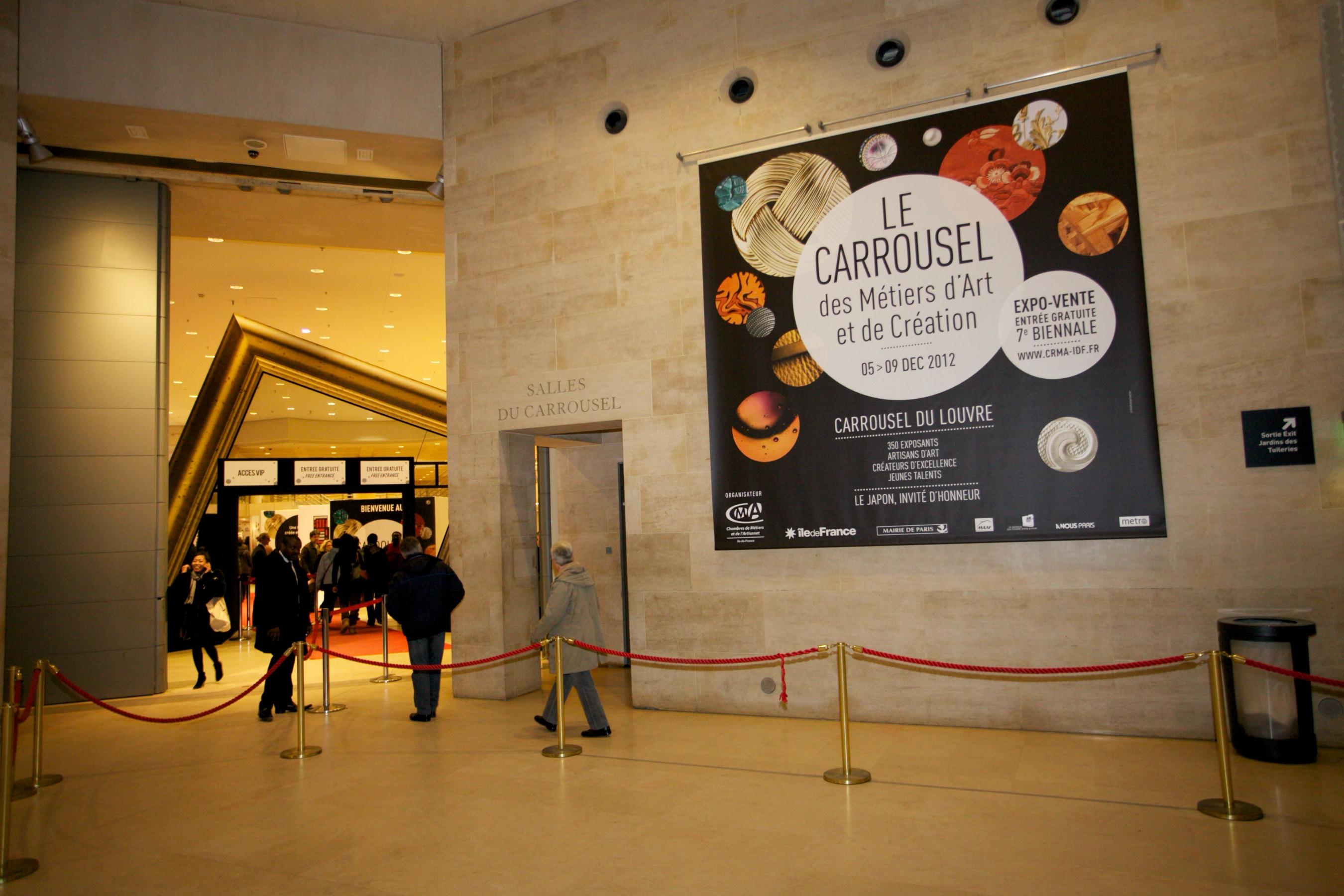 8 me biennale du carrousel des m tiers d 39 art et de for Biennale artisanat d art