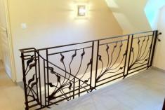Garde-corps rampe d'escalier